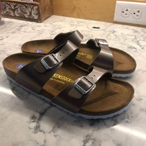 Birkenstock Shoes | New Rose Gold S